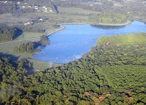 Chambers Lake, located on the Birch Run, supports water use in the greater Coatesville area