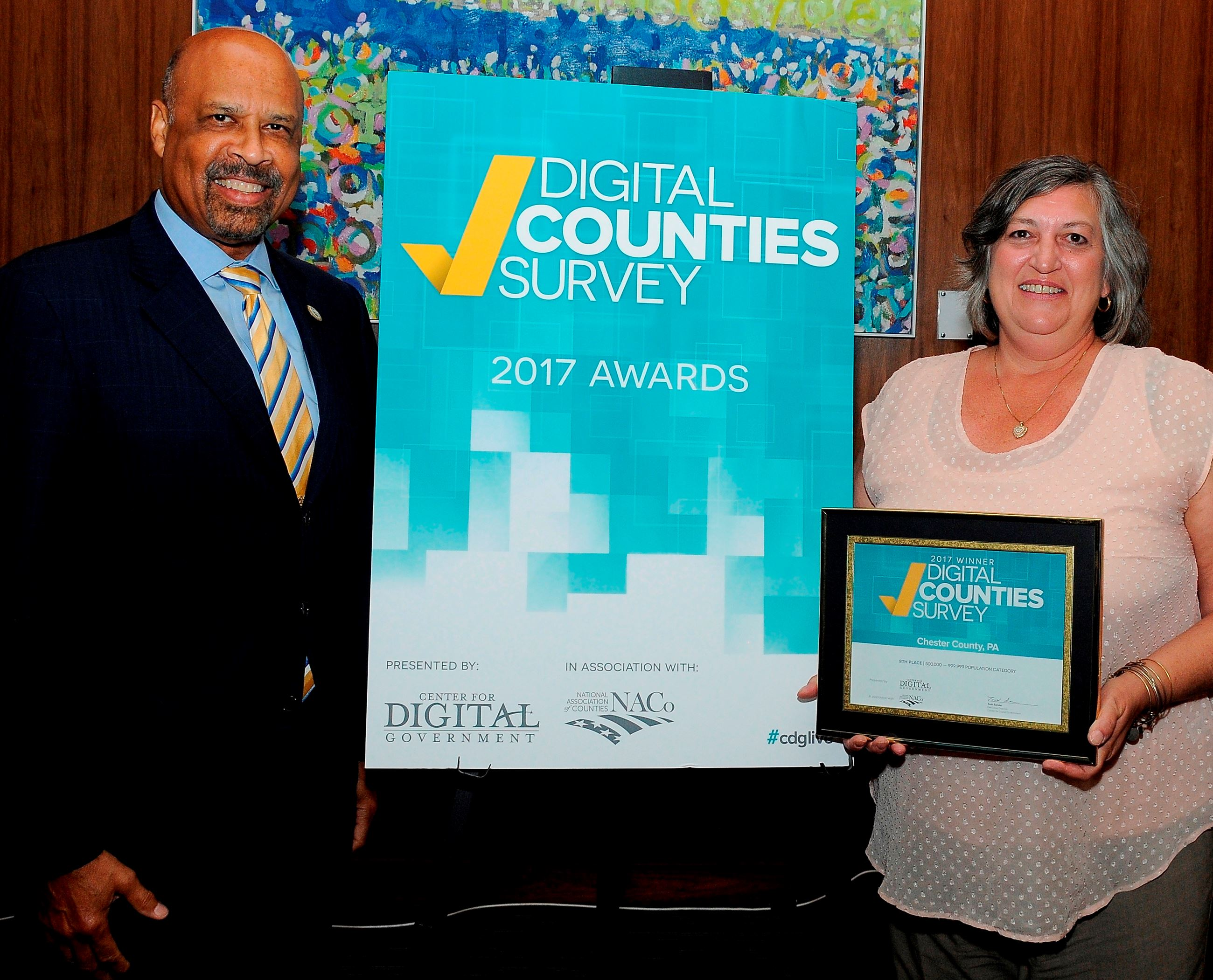 Digital Counties Survey 2017 award
