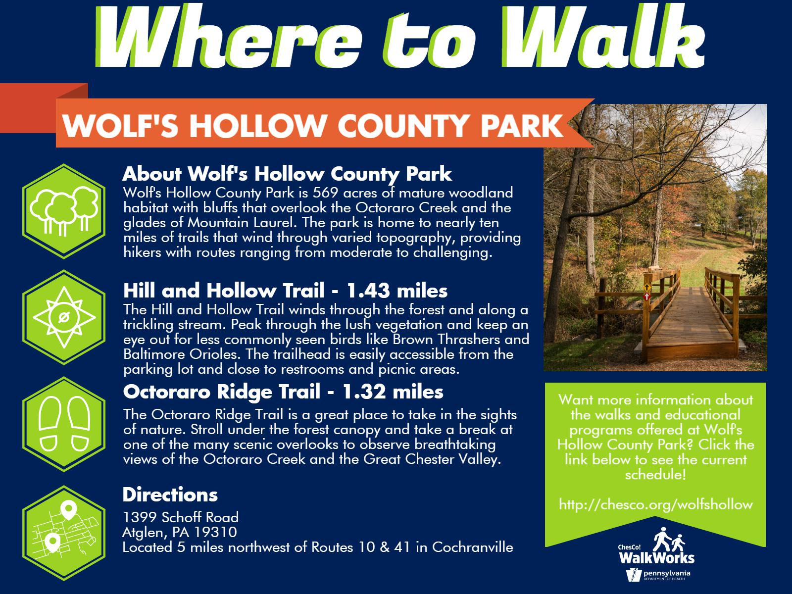 Wolfs Hollow County Park