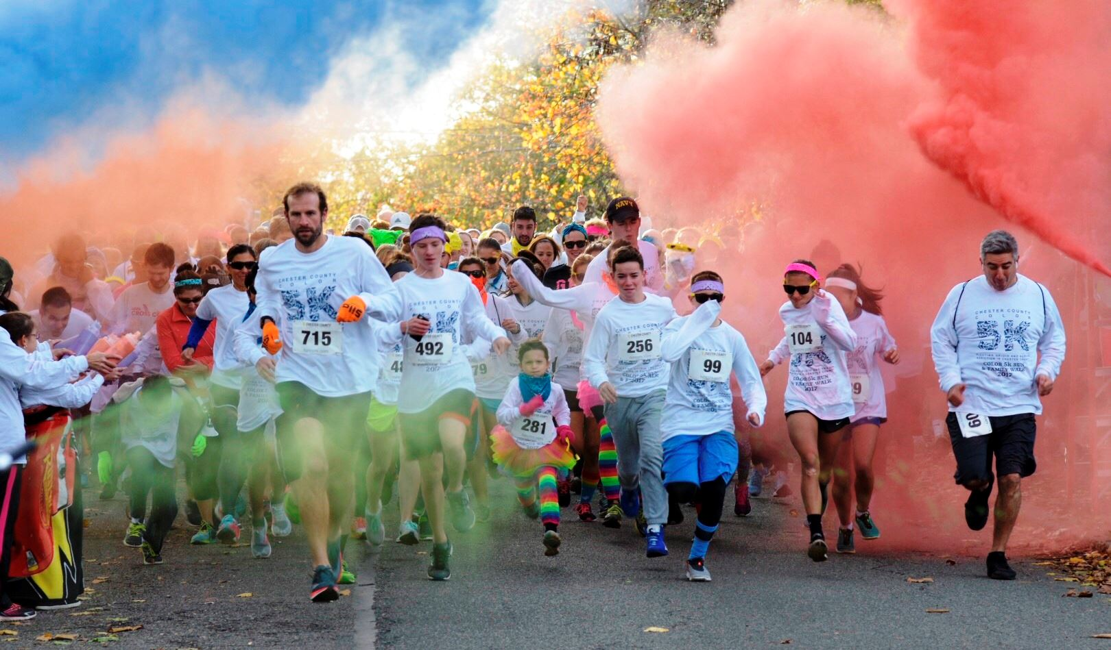 Start of the Color 5K