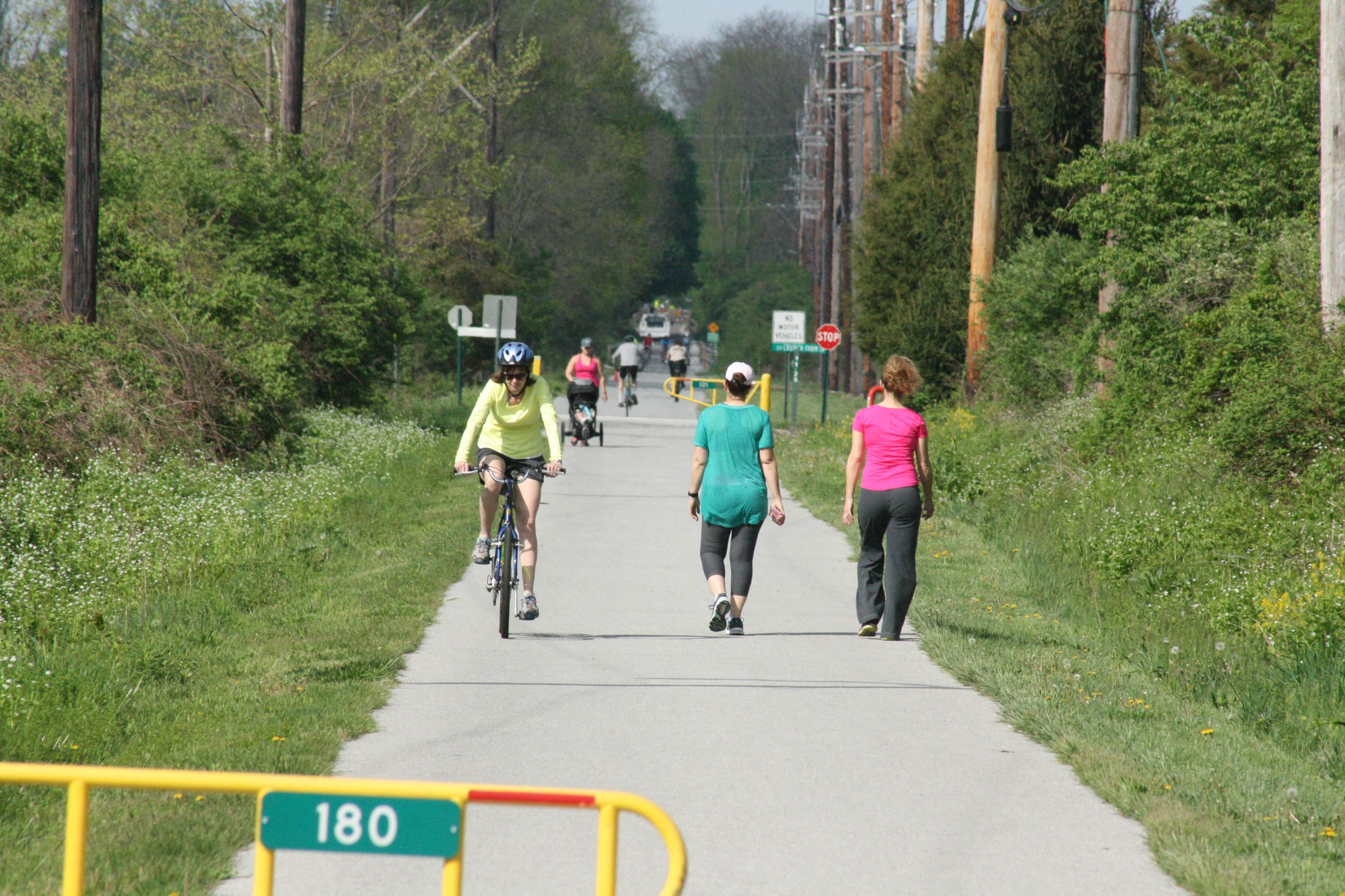 Chester Valley Trail in West Whiteland