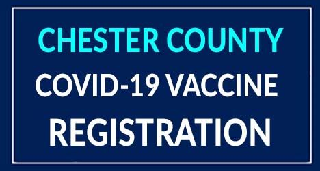 Chester County vaccine registration